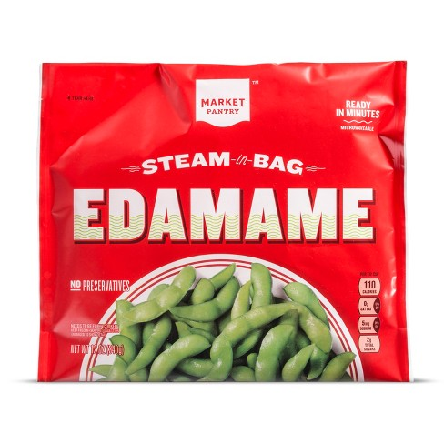 Steam-in-bag Edamame - 12oz - Market Pantry™ - image 1 of 1