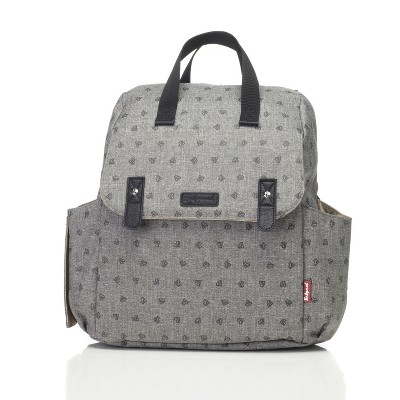 Babymel Robyn Origami Heart Diaper Bag - Gray