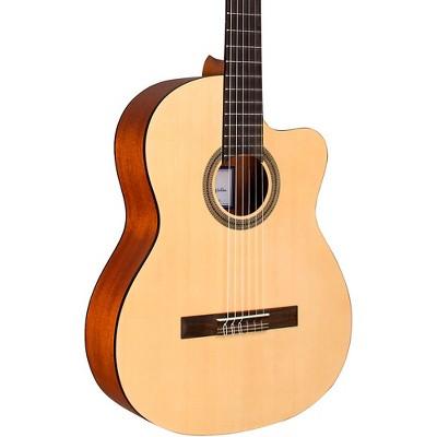 Cordoba C1M-CE Protege Cutaway Nylon-String Acoustic-Electric Classical Guitar Natural