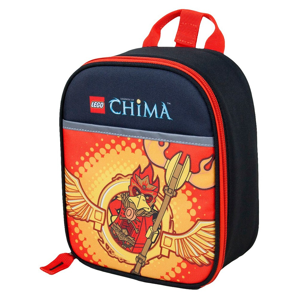 Lego Chima Master of Fire Vertical Lunch, Red