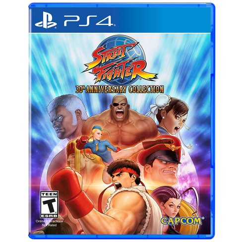 Street Fighter 30th Anniversary Collection - PlayStation 4 - image 1 of 4