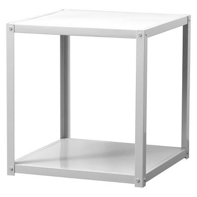 Metal End Table White - Project 101