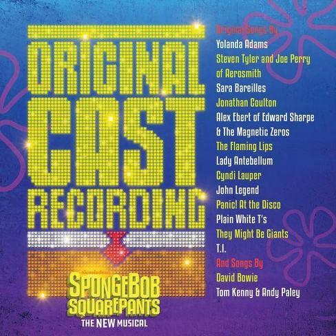 Original Cast - SpongeBob SquarePants, The New Musical (OCR) (CD) - image 1 of 1