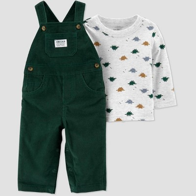 Baby Boys' 2pc Dino Top & Bottom Sets - Just One You® made by carter's Green 3M