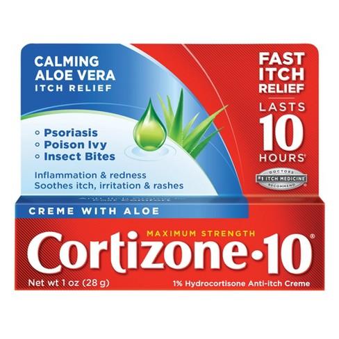 Cortizone 10 Maximum Strength Aloe Anti-Itch Creme - image 1 of 3