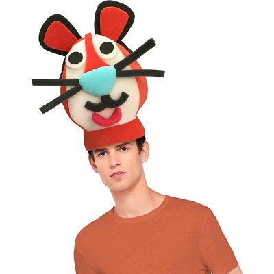 Funky Fresh Tiger Adult Foam Costume Hat - One Size