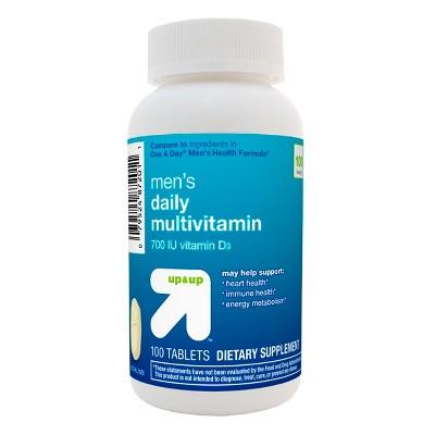 Multivitamins: up & up Men's Daily Multivitamin