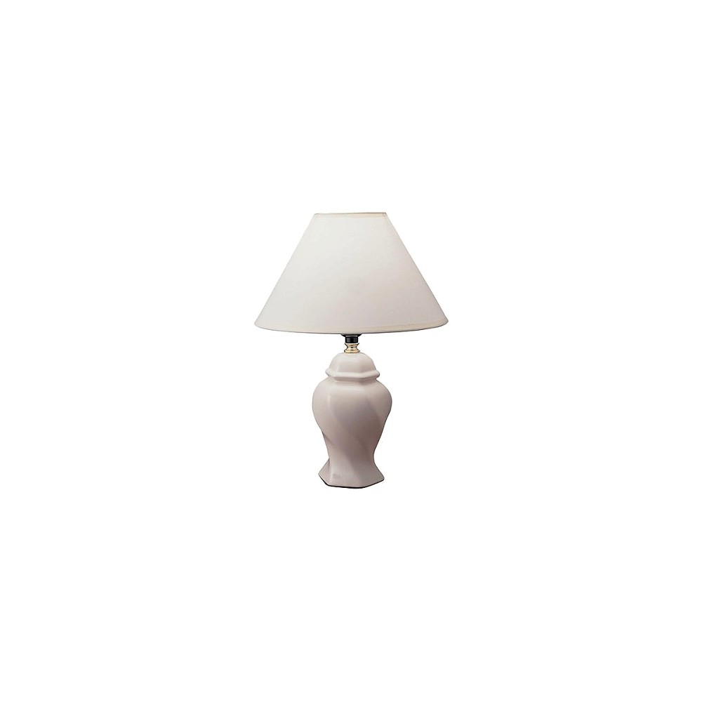 Image of Ceramic Table Lamp - Ivory