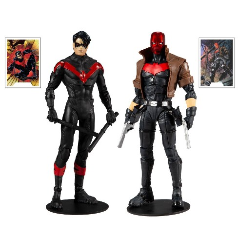DC Comics Battle Scene Multipack - Nightwing vs. Red Hood - image 1 of 4