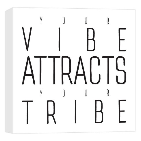 "Your Vibe Decorative Canvas Wall Art 16""x16"" - PTM Images - image 1 of 1"