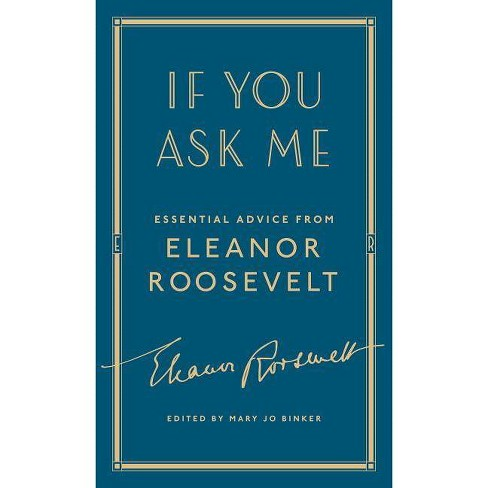 If You Ask Me - by  Eleanor Roosevelt (Hardcover) - image 1 of 1
