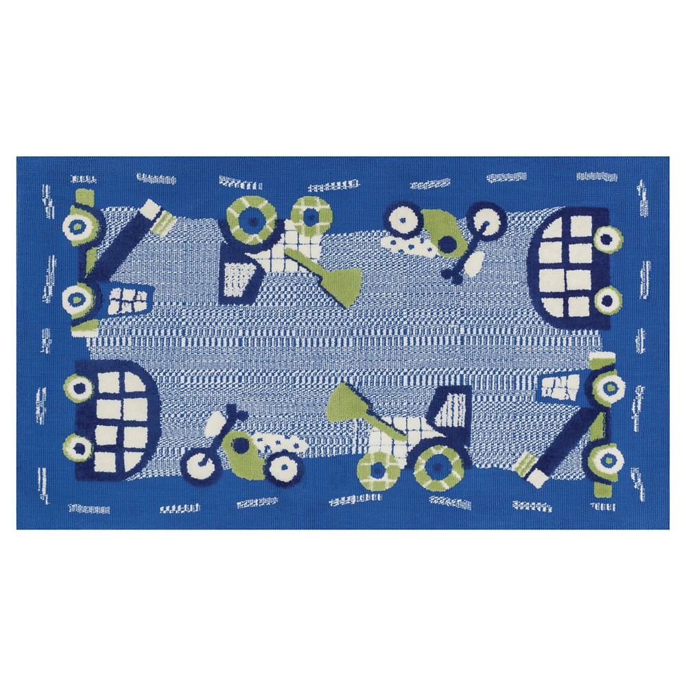 Loloi Zoey Accent Rug - Blue (2'X3')