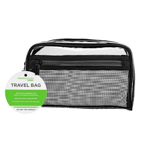 Travel Smart by Conair Cosmetic Bag - Clear - image 1 of 3