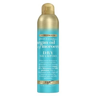 OGX Extra Strength Refresh & Revitalize + Argan Oil of Morocco Dry Shampoo - 5oz