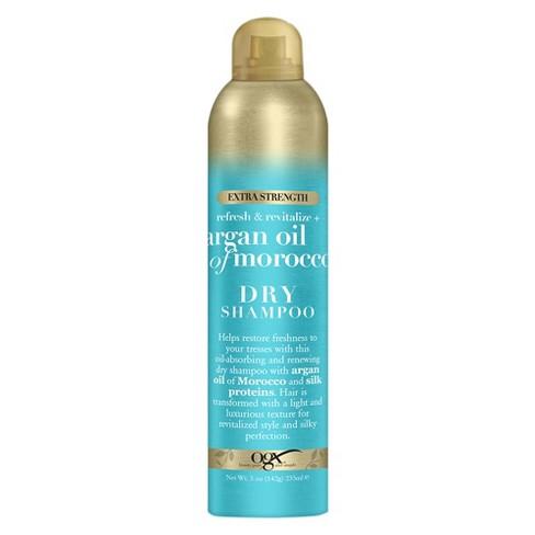 OGX Extra Strength Refresh & Revitalize + Argan Oil Of Morocco Dry Shampoo - 5oz - image 1 of 3