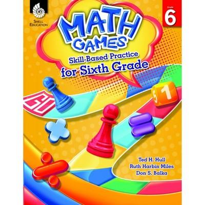 Shell Education Math Games: Skill-Based Practice, Grade 6
