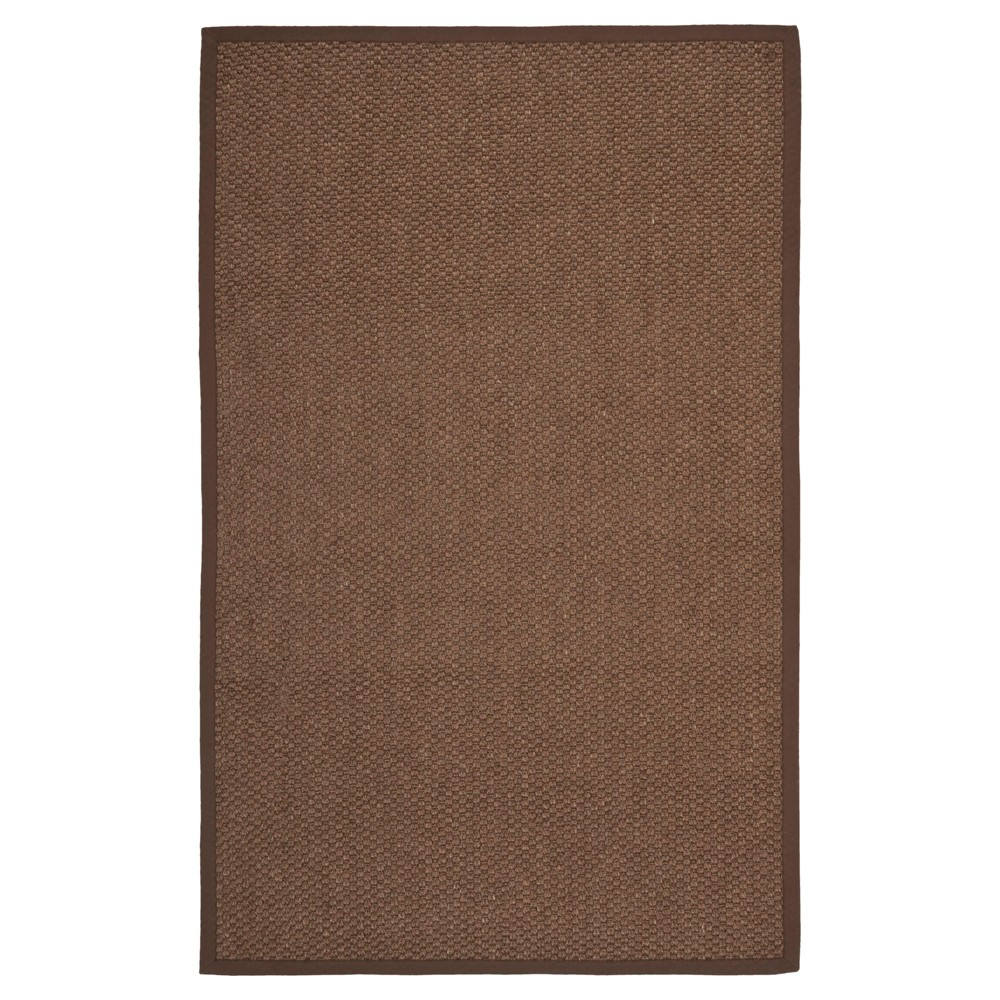 Carson Natural Fiber Area Rug - Chocolate (Brown) (108