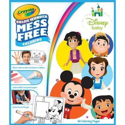 Crayola 18pg Disney Baby Color Wonder Refill Book