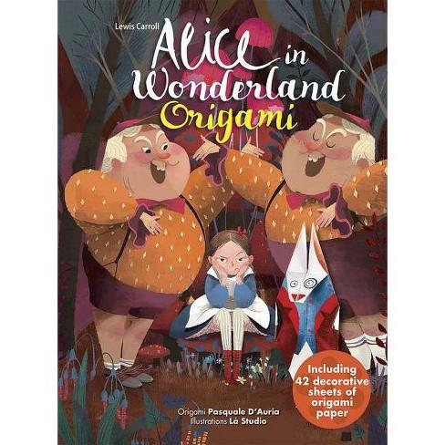 Alice in Wonderland Origami - (Hardcover) - image 1 of 1