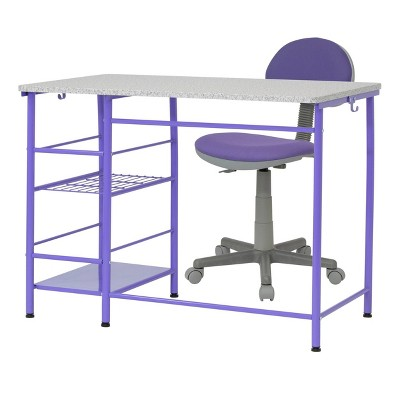 2pc Study Zone Ii Student Desk and Task Chair Set - Calico Designs