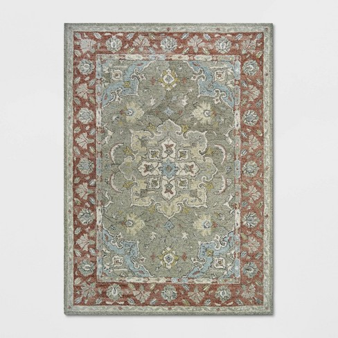 Floral Tufted Rug - Threshold™ - image 1 of 4