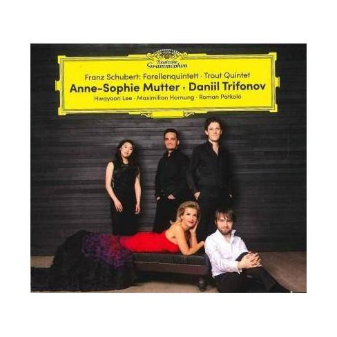 Anne-Sophie Mutter - Schubert: Forellenquintett- Trout Quintet (CD) - image 1 of 1