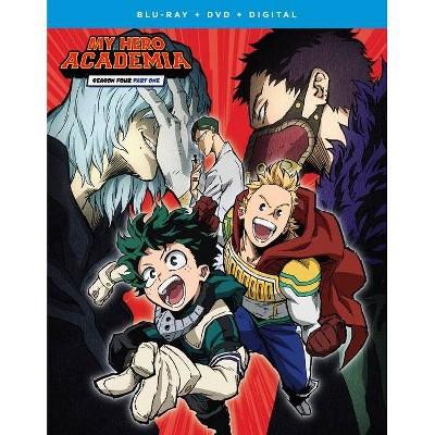 My Hero Academia: Season 4 Part 1 (Bly-ray + DVD + Digital)