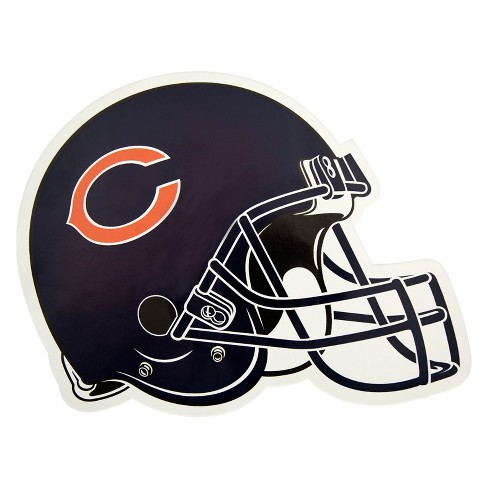 NFL Chicago Bears Large Outdoor Helmet Decal - image 1 of 1