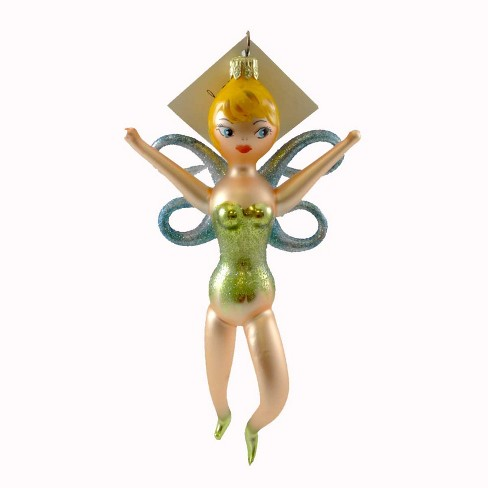 Laved Italian Ornaments Fairie Christmas Blown Glass  -  Tree Ornaments - image 1 of 2