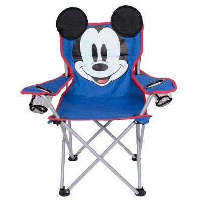 Evergreen Kids Mickey Mouse Camp Chair - Blue