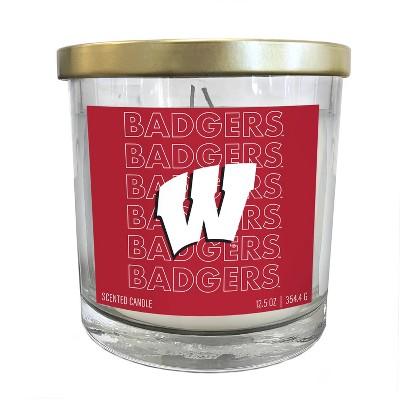 NCAA Wisconsin Badgers Echo Team Candle