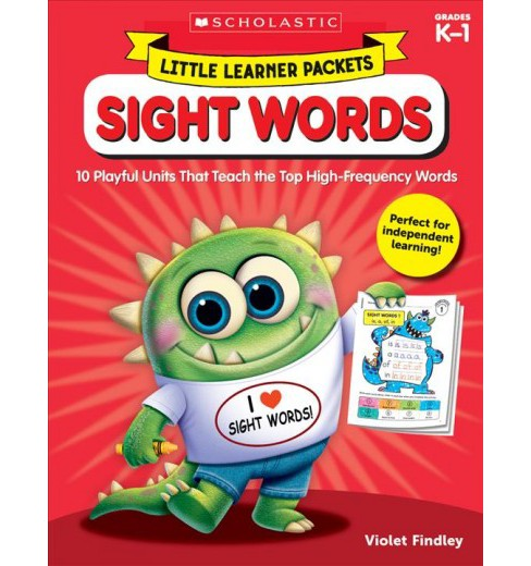 Sight Words : 10 Playful Units That Teach the Top High-frequency Words (Paperback) (Violet Findley) - image 1 of 1