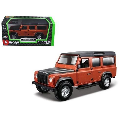 7c2bbb60e74b4d Land Rover Defender 110 4 Doors Orange 1 32 Diecast Model Car By Bburago    Target