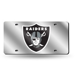 NFL Rico Industries Silver Laser Cut Auto Tag