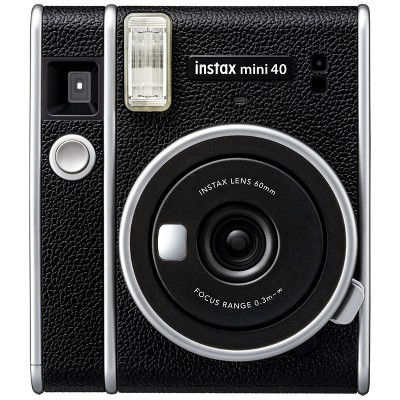Fujifilm Instax Mini 40 Camera - Black