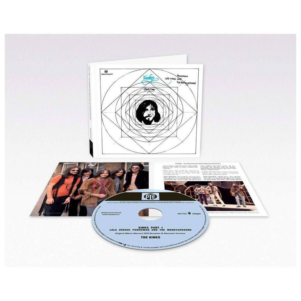 The Kinks Lola Versus Powerman And The Moneygoround Pt 1 50th Anniversary Cd