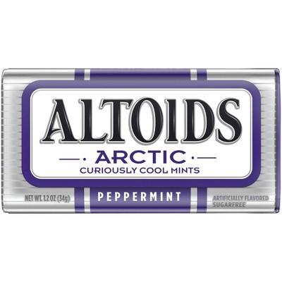 Altoids Arctic Peppermint Mint Candies - 1.2oz
