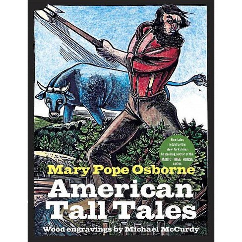 American Tall Tales - by  Mary Pope Osborne (Hardcover) - image 1 of 1
