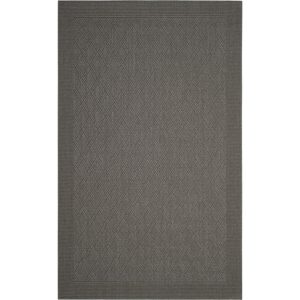 5'X8' Diamond Loomed Area Rug Ash/Light Gray (Grey/Light Gray) - Safavieh