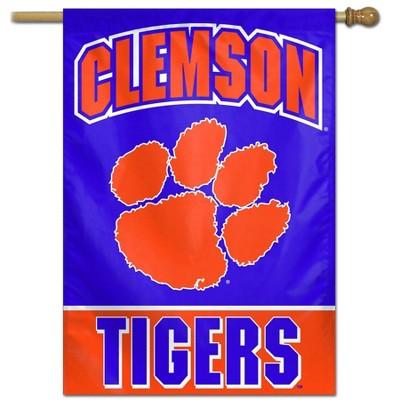 """NCAA Clemson Tigers 40""""x28"""" Vertical Banner"""