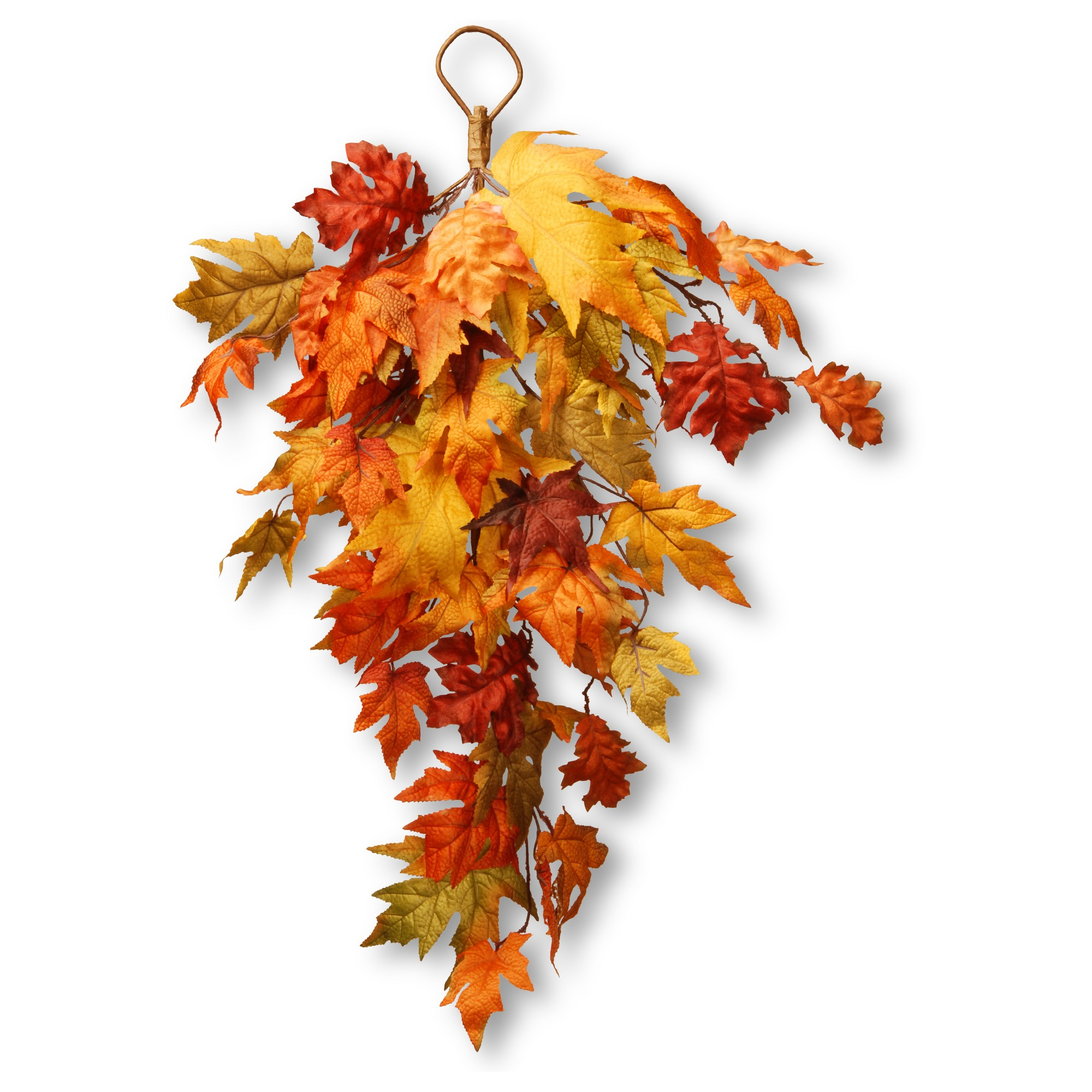 30 Maple Leaf Teardrop - National Tree Company, Orange Dream