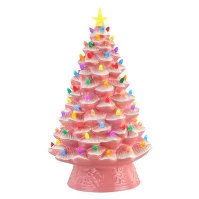 """Mr. Christmas Nostalgic Ceramic LED Christmas Tree - 18"""""""