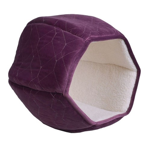 Hexagon Quilted Dog Bed - S - Boots & Barkley™ - image 1 of 3