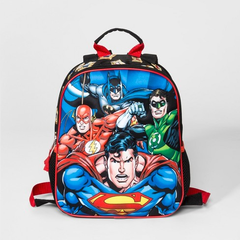 Boys' Justice League Backpack - Blue - image 1 of 2
