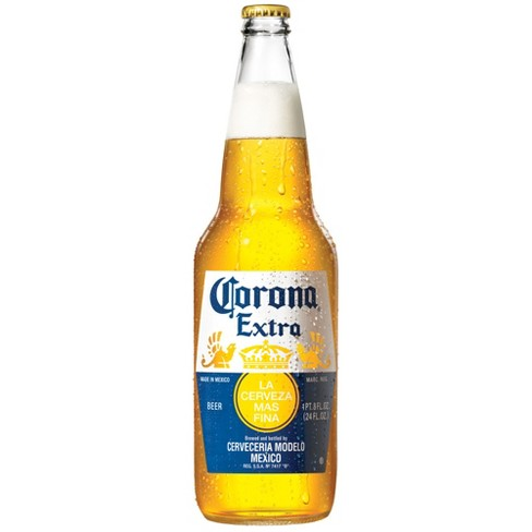 Corona Extra Lager Beer - 24 fl oz Bottle - image 1 of 2