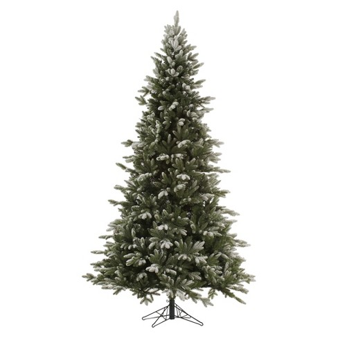 75ft pre lit led artificial christmas tree full rocky mountain fir multicolored lights - Artificial Christmas Tree