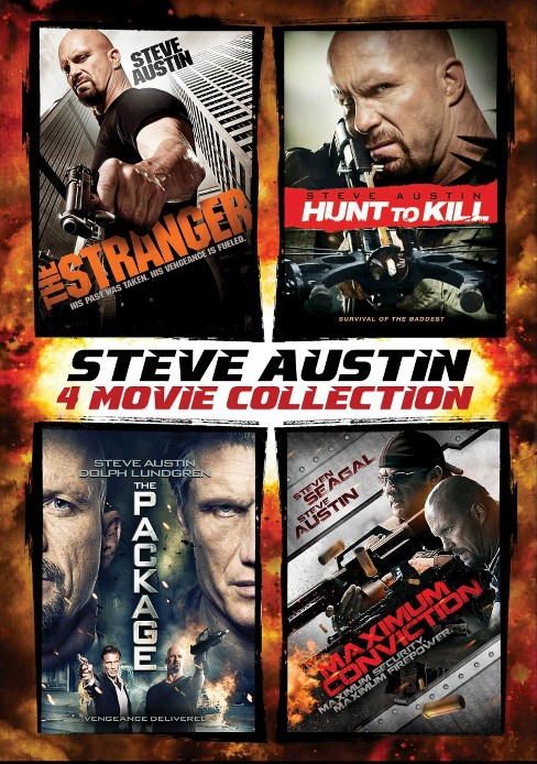 Steve Austin: 4 Movie Collection [4 Discs] - image 1 of 1