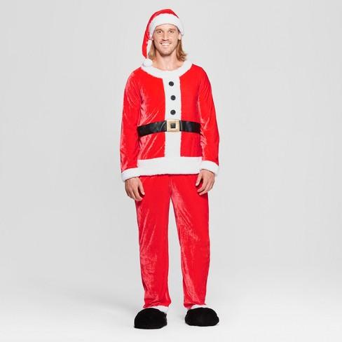 eac5ca228bf Adult Santa Suit Costume - Wondershop™   Target