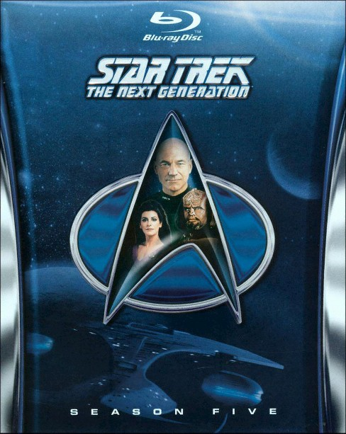 Star Trek: The Next Generation - Season 5 [6 Discs] [Blu-ray] - image 1 of 1