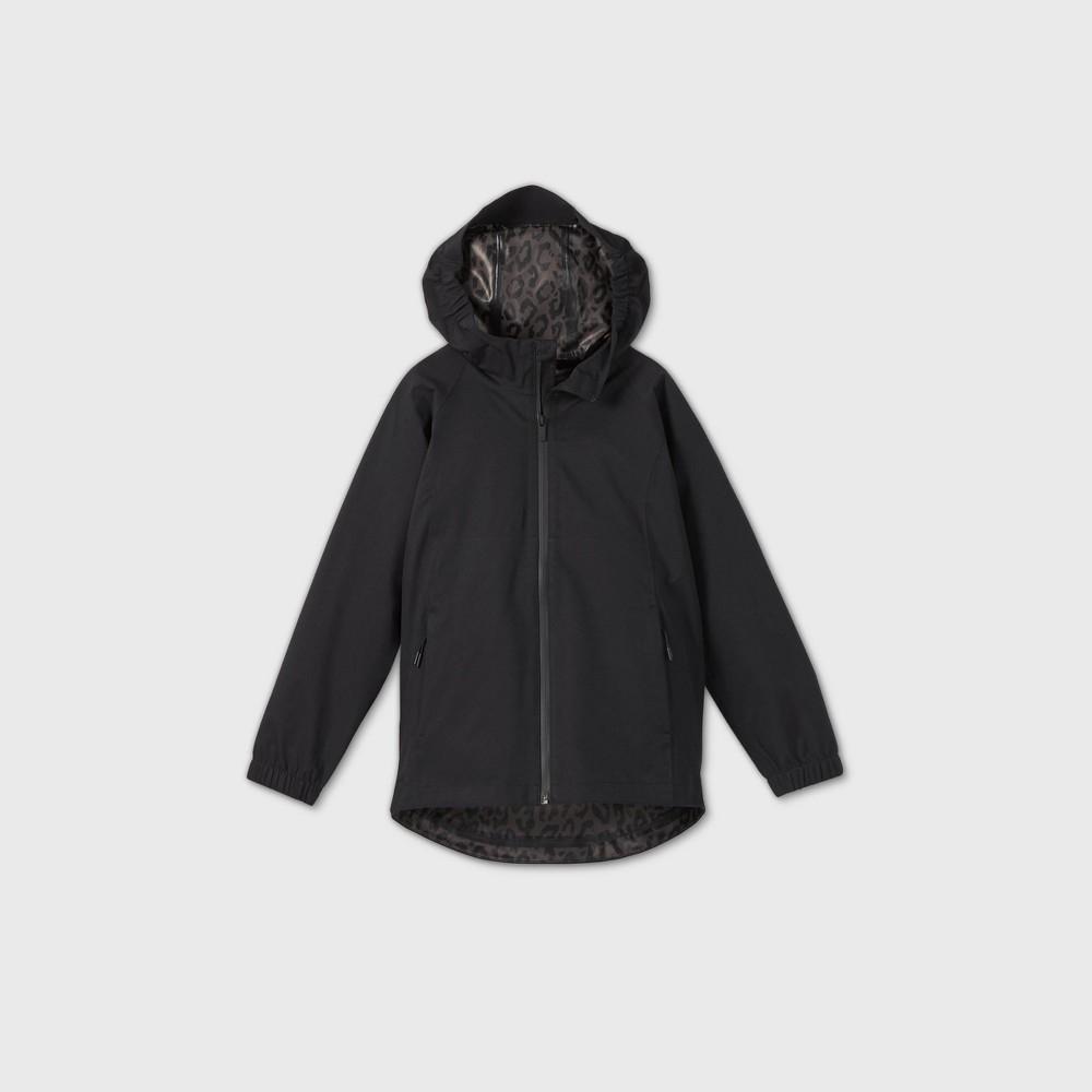Girls 39 Waterproof Shell Jacket All In Motion 8482 Black Xs